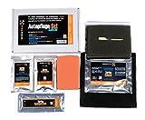 Premium Autopolitur Set der Marke waxtec® / Lackversiegelung incl. Applikationsschwamm und Microfasertuch für Auto und Motorrad 6 teilig