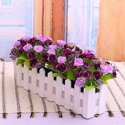 jedfild-bouquets-fence-flower-emulation-flower-wooden-fence-roses-kit-living-room-furnished-with-art