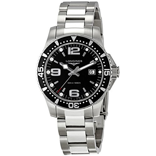 longines-hydroconquest-mens-quartz-watch-with-black-dial-analogue-display-and-silver-stainless-steel