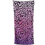 1pcs Sexo impresión del leopardo Toallas de playa toallas de gran tamaño de baño para vacaciones