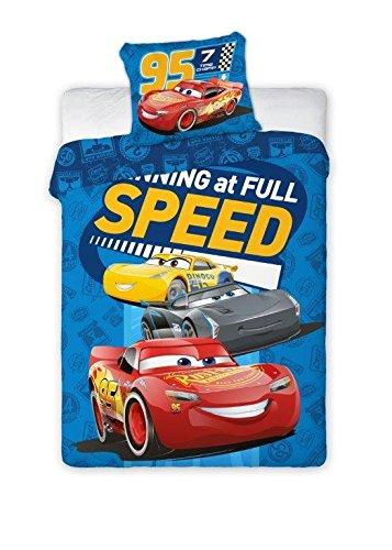 Disney Pixar Cars Parure de lit pour bébé 100 x 135 cm