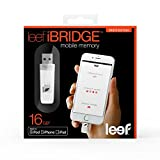 Leef iBRIDGE 16GB Mobile Memory iOS USB Flash Drive with Lightening Connector for Apple (White)
