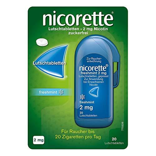 Nicorette freshmint 2 mg 20 stk