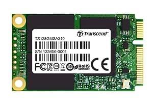 Transcend MSA340 interne mSATA SSD 128GB (6,4 cm (2,5 Zoll), 6Gb/s, MLC)