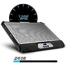 KLIM Swift - Ventilador para ordenador portátil soporte