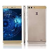 SIM - Freien Smartphone, HyRich 6.0inch Android & Mtk6580 1GB RAM + 8GB ROM Dual - SIM - Dual Kamera,Dual Webcam 3g Handy Entsperrt (Gold)