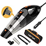 HOTOR Corded Car Vacuum Cleaner with LED Light, DC12-Volt Wet/Dry Portable Handheld Auto Vacuum Cleaner for Car,16.4… 15