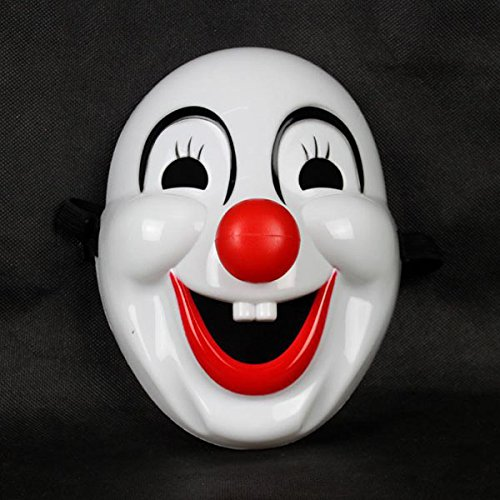 Herr Up Set Sterne Dress Kostüm - Tinksky Clown Maske für Clown Kostüm Halloween Party Maske Bälle Karneval Parteien 10pcs