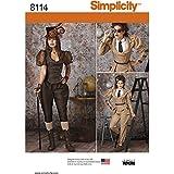 Simplicity Patron de costume steampunk pour Patron de Couture, papier