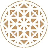 Alles Stencil Deco Damast 081Mandala, Maßnahmen: Stencil 20x 20cm–Design 18x 18cm
