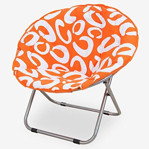 QRFDIAN Portable Lounge Sessel/Home Sofa Büro Esszimmer Stuhl Klappstuhl Geeignet für Familien im...
