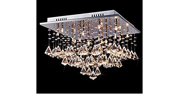 Kronleuchter Modern Halogen ~ Saint mossi® moderne luxus groß glas kristall klar kronleuchter