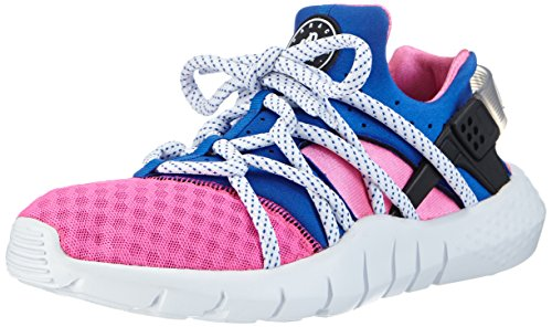 Nike Huarache Nm, Chaussures de Running Compétition Homme multicolore (Dynamic Pink/Black-Game Royal 600)