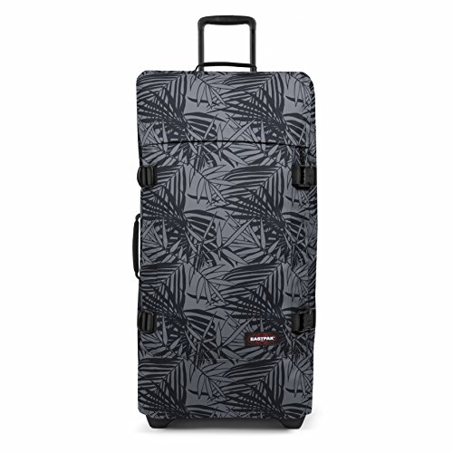Eastpak Tranverz L Valise, 79 cm, 121 L, Noir (Leaves Black)