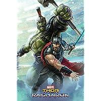 Pyramid International Póster de Hulk, Thor Ragnarok Póster, plástico/vidrio, multicolor, 61x 91,5x 1,3cm