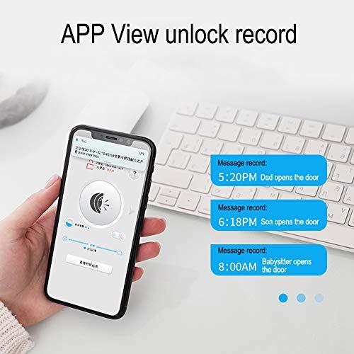 WE.LOCK Biometrischer Fingerabdruck und Bluetooth Smart - 4