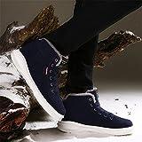 SAGUARO Herren Boots Schneestiefel Winterstiefel Warm Gefutterte Outdoor Winterschuhe, Deep Blue, EU 41 - 6