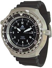 Riesige 52mm de buceo automático reloj con válvula de helium y cristal de zafiro t0298