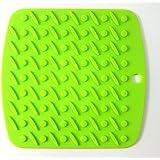 Kuke Salvamantel de Silicona sin BPA Resistente al Calor (Verde)