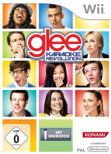 Karaoke Revolution Glee Vol. 1 + Micro (Revolution Wii-karaoke Glee)
