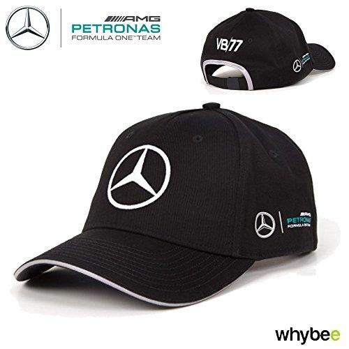c6f198a392007 Mercedes AMG Petronas Béisbol Tapa Valtteri Bottas F1 Team 2017 Negro