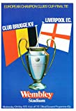 european champion clubs cup final tie programme club brugge kv v liverpool fc, wembley stadium 10th may 1978 programme