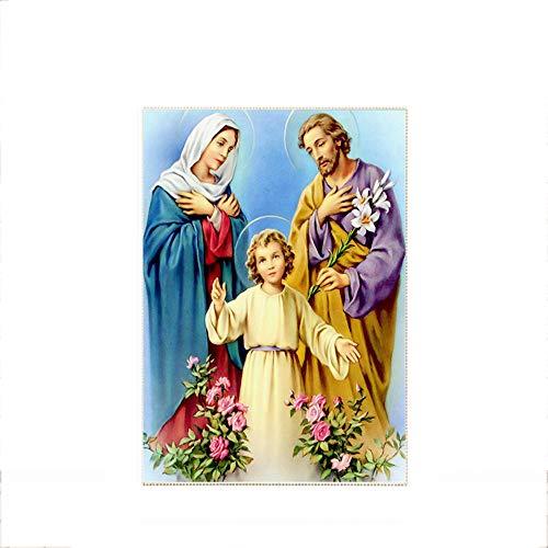 T-YXM 5D DIY Diamond Painting Religiöse Figuren der Jungfrau Maria Bohrer Kristall Stickerei Bilder Kunsthandwerk für Wand-Dekor