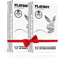 PLAYBOY CONDOMS Lubricated (2 x 12 Kondome) preisvergleich bei billige-tabletten.eu