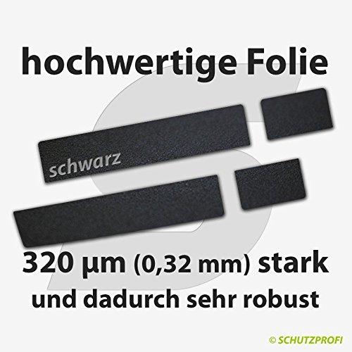 Türschwellerschutzfolien 320 µm - schwarz - extra starker PREMIUM LACKSCHUTZ