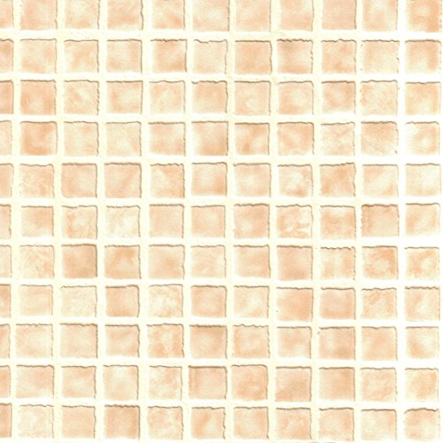BHF 23145 Ceramica Mosaic Tile Sidewall Kitchen and Bathroom Wallpaper - Beige