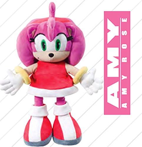 Sonic X The Hedgehog Plüsch Figur Stofftier 32 cm - Farben zur Auswahl Sonic Figuren Amy