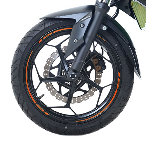 "Price comparison product image R&G Motorcycle Rim Tape for 17"" Inch wheels - Orange"