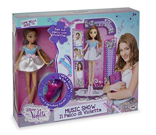 Giochi Preziosi 70182391 - Disney, bambola di Violetta Fashion Doll Music Show
