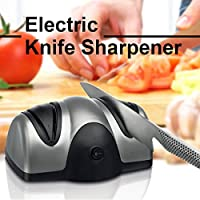 Multifunction Electric Automatic Knife Sharpener 2 Stage Kitchen Fruit Knife Scissor Sharp