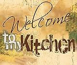 Artland Design Spritzschutz Küche I Alu Küchenrückwand Herd BxH: 60x50 cm sehr schnelle und einfache Montage Willkommen in meiner Küche