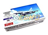 rcecho® Hasegawa Aircraft Model 1/72 Eurofighter Typhoon Single Seater E40 01570 H1570 with 174; Full Version Apps Edition