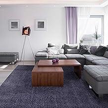 alfombra de pelo largo extra grande x cm shaggy light para saln en