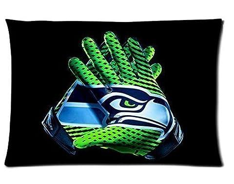Custom Seattle Seahawks Pillowcase Cushion Cover Design Standard Size 20X30