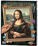 Schipper 609130511 - Malen nach Zahlen - Mona Lisa, 40 x 50 cm