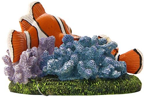 "Penn-Plax Finding Nemo and Marlin Aquairum Ornament 4"" 4"