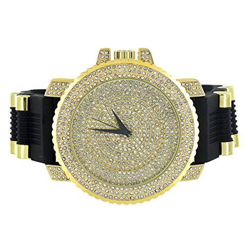 jojo-jojino-montre-pour-homme-iced-out-chrome-fini-or-cadran-analogique-faux-diamants