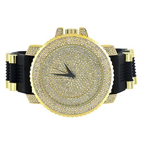 jojo-jojino-montre-pour-homme-iced-out-chrome-fini-or-cadran-analogique-faux-diamants