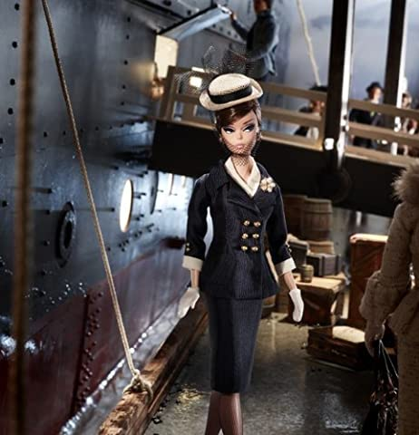 Mattel Barbie Collector X8265 Fashion Model Boater Ensemble Silkstone Fan Club Exclusive- Limited