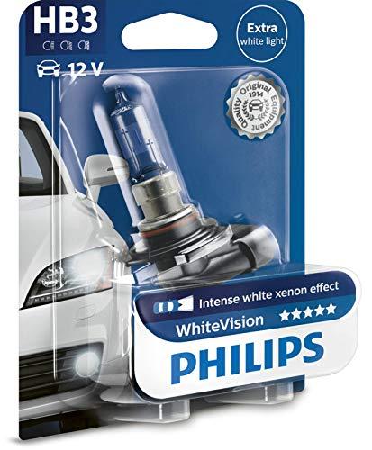 Philips WhiteVision Xenon-Effekt HB3 Scheinwerferlampe 9005WHVB1, Einzelblister