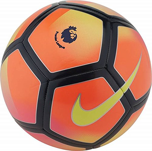 NIKE PITCH PREMIER LEAGUE FOOTBALL BALL 2017/2018 (Crimson/Volt) size 3