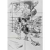 Doppelganger33 Ltd Paintings Drawing Children Lusitania Uboat War WWI Wall Art Multi Panel d'affiche 33x47 pouces