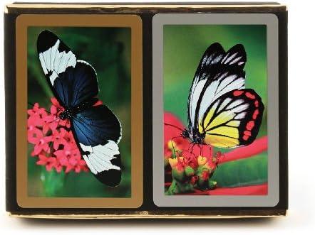 Congrès Papillon Jeu de cartes (lot de de de 2) B00BMTFI8M 096f83
