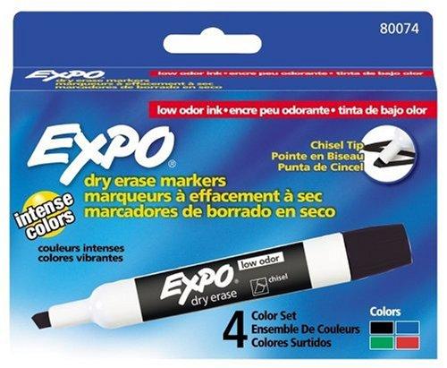 low-odor-dry-erase-markers-chisel-tip-basic-assorted-4-set