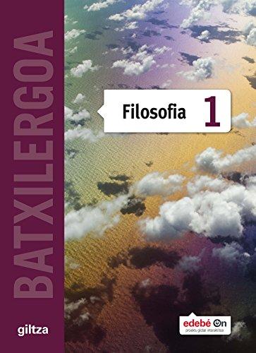 FILOSOFIA TX1 (EUS) - 9788483784068 por Giltza