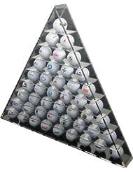 Longridge Présentoire balles pyramide (peut contenir 45 balles de golf)